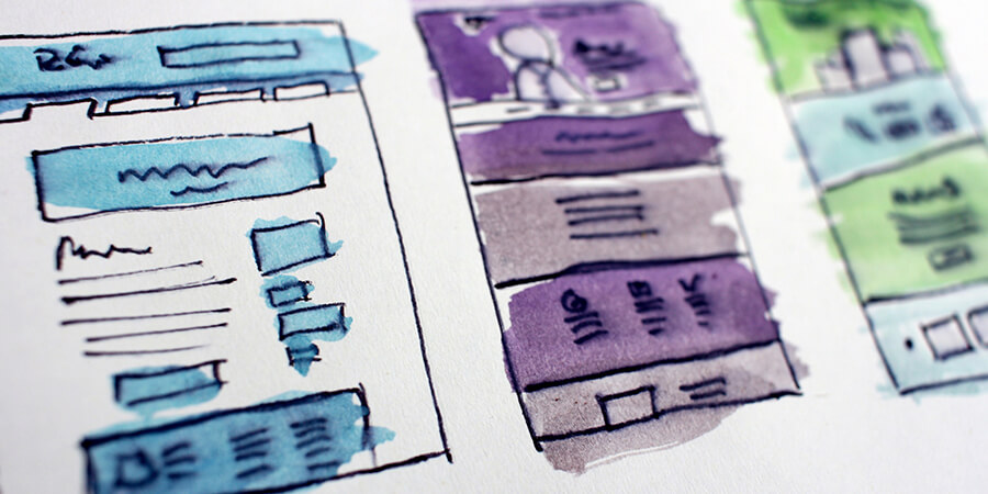 webサイトの制作手順②ワイヤーフレームというデザインの骨組みを作る
