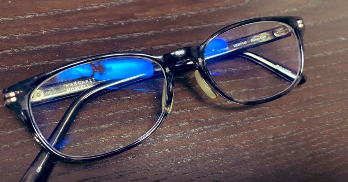 眼鏡を作りました。