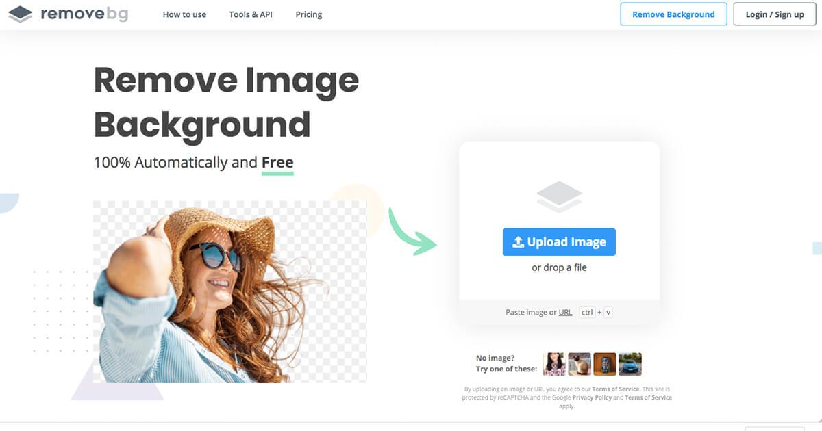 画像の背景を消すWEBサイト「remove.bg」の使用方法